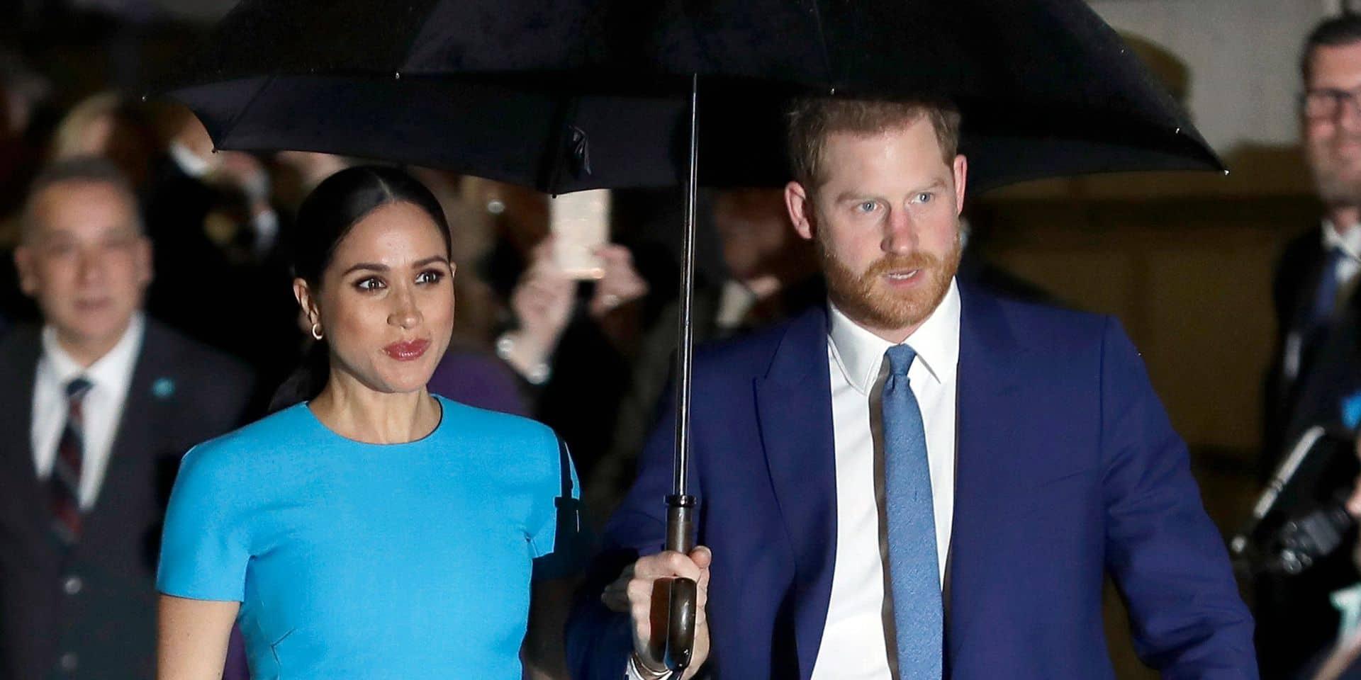 Le prince Harry et Meghan Markle portent plainte pour des photos volées de leur fils