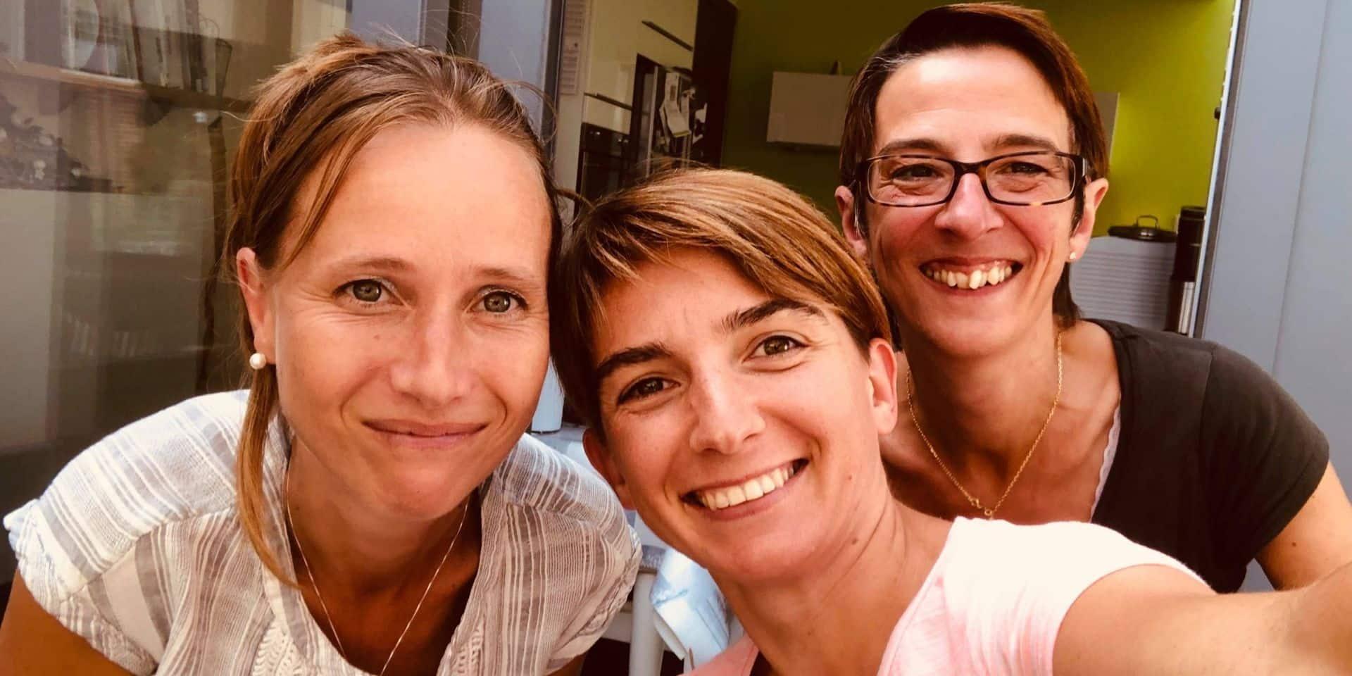 """Trois mamans d'Ecaussinnes s'unissent pour les """"personnes différentes"""""""