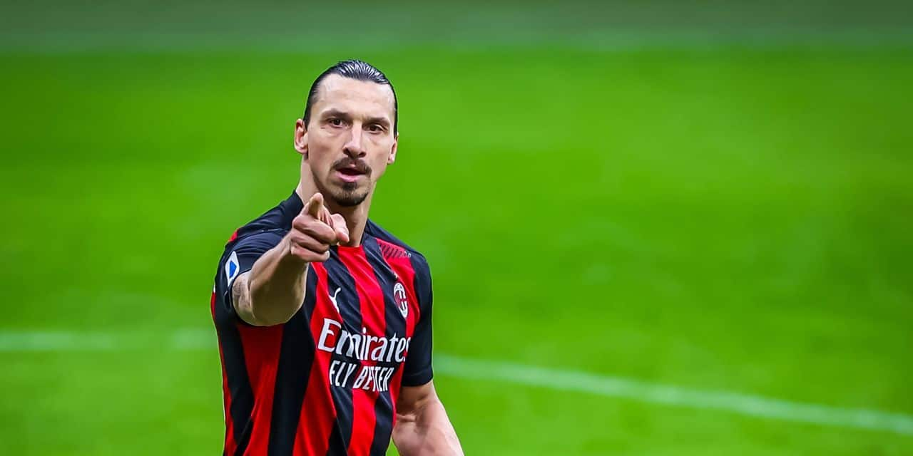 L'AC Milan pourrait être privé de Zlatan Ibrahimovic pour trois semaines - dh.be
