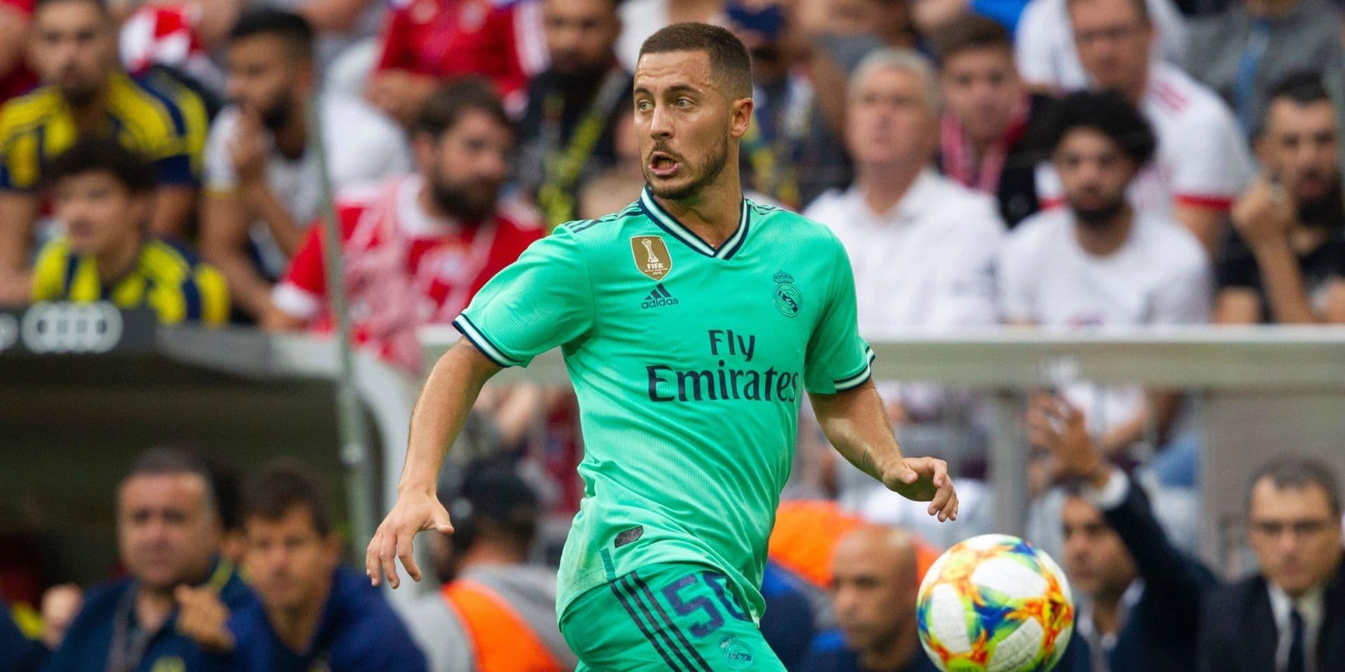"""Eden Hazard dans le groupe du Real Madrid pour la première fois de la saison: """"Il est prêt"""""""