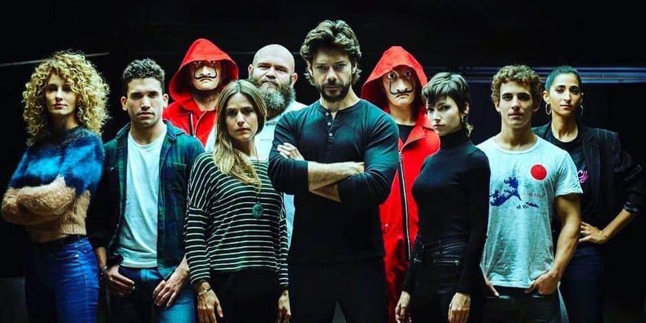 La Casa de Papel, un des bons plans Netflix d'avril