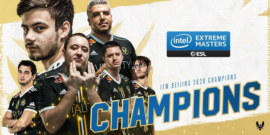 La Team Vitality remporte la manche chinoise des Intel Extreme Masters XV Europe