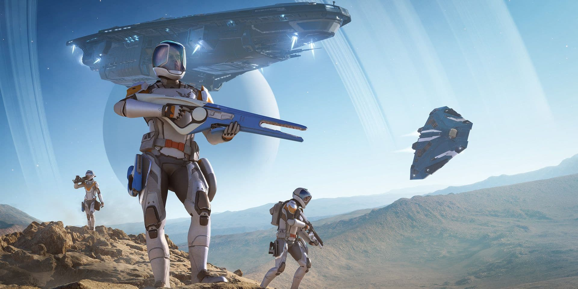 """Trailer : Un mode FPS dans la nouvelle extension de Elite Dangerous : """"Odyssey"""""""