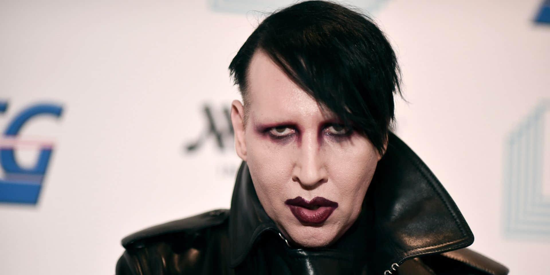 Un mandat d'arrêt délivré contre Marilyn Manson pour agression sexuelle et physique