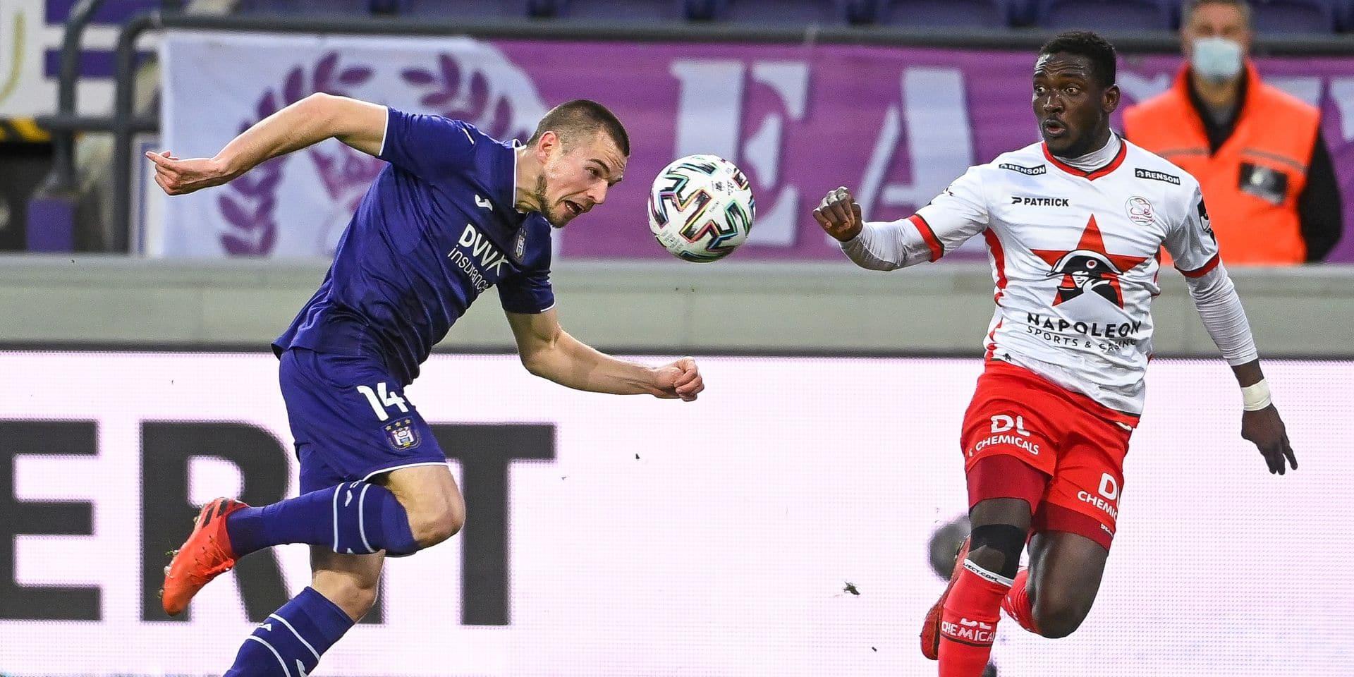 """Mykhaylichenko de retour au premier plan à Anderlecht: """"Il n'est pas encore à son vrai niveau"""""""