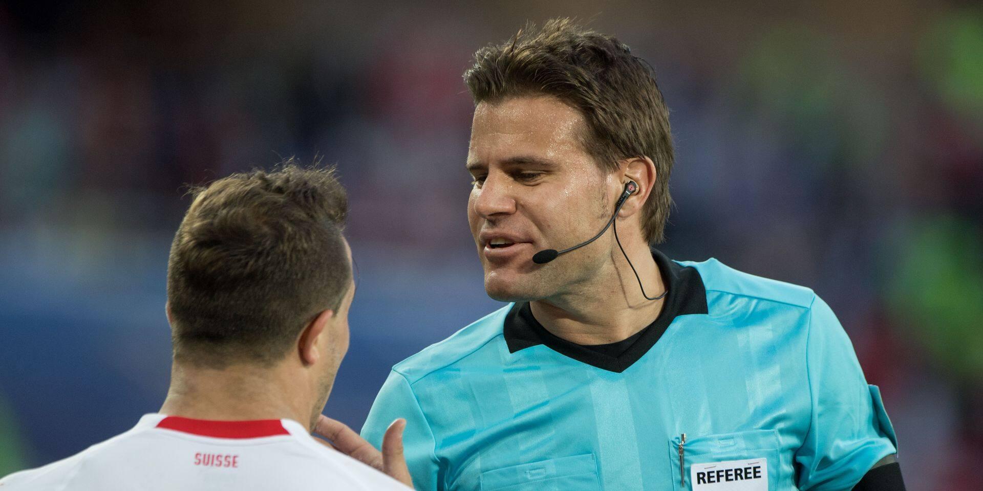 Felix Brych, l'arbitre allemand de Serbie - Suisse, renvoyé à la maison avant les quarts