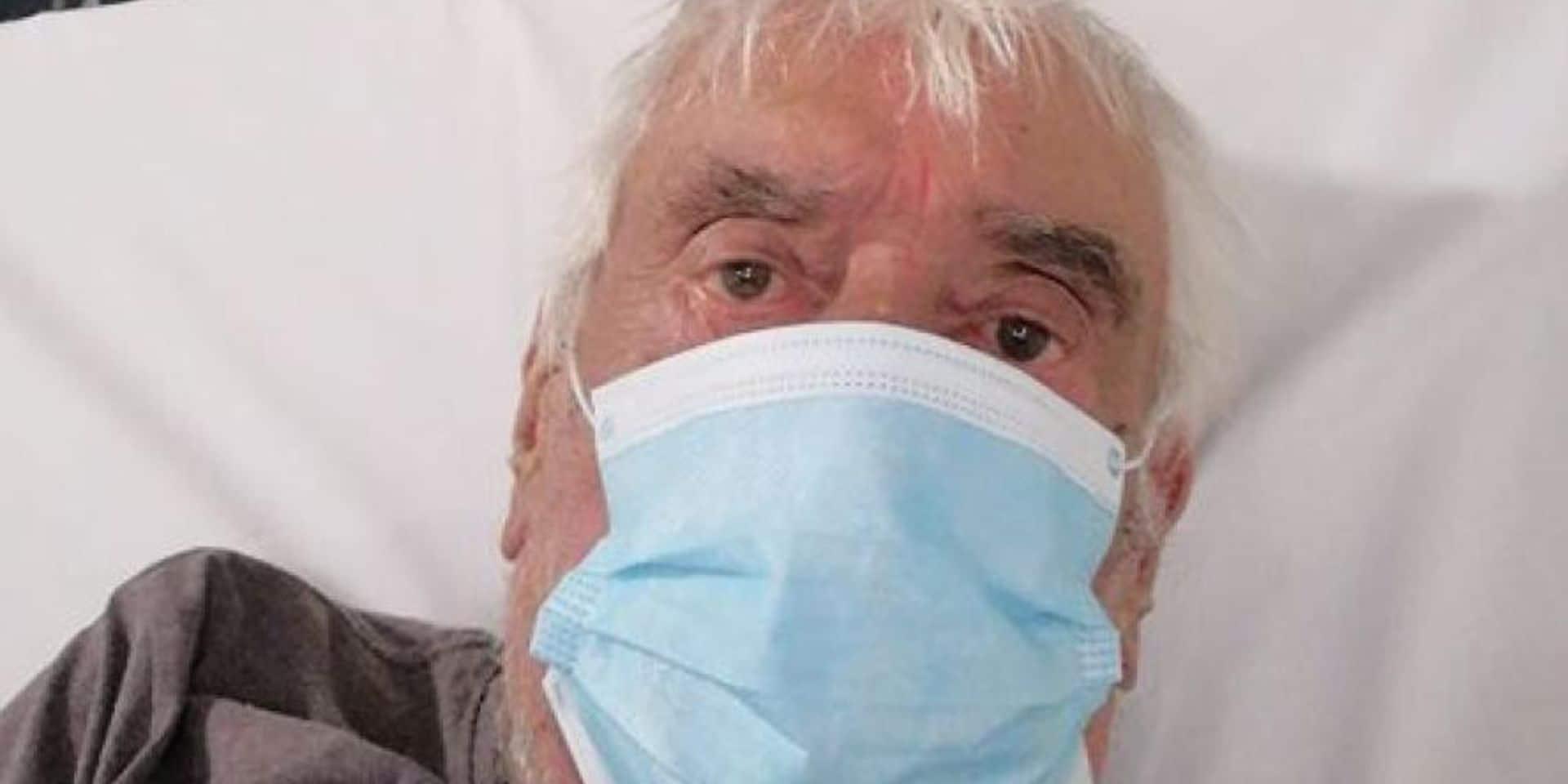 Lou Deprijck à l'hôpital