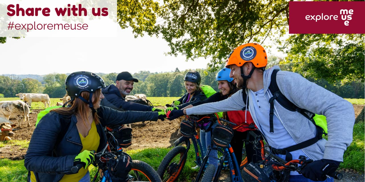 Explore Meuse : un nouveau nom et un nouveau visage pour le tourisme en province de Namur