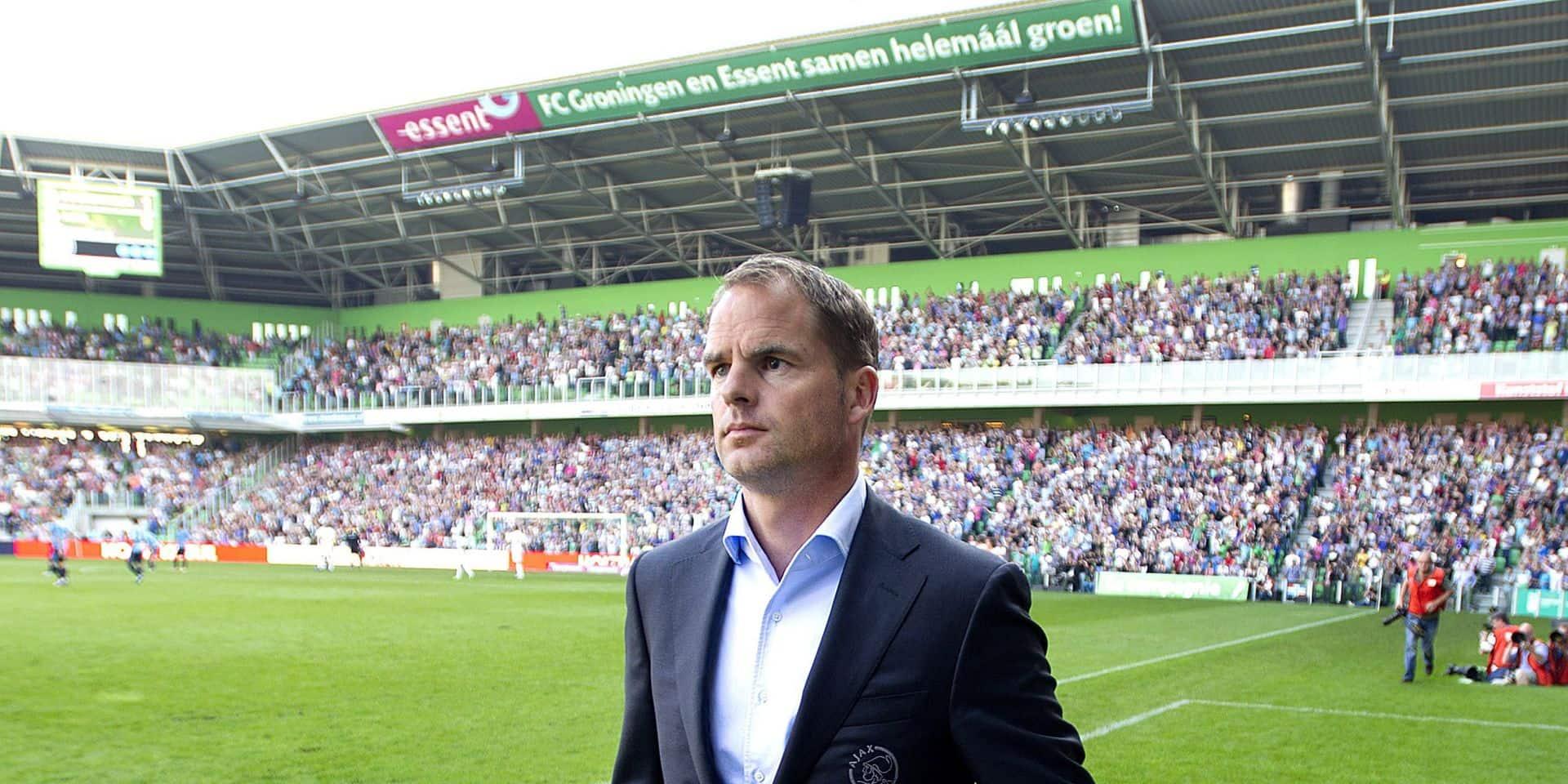 Frank De Boer a refusé Anderlecht, qui désignera bientôt son T1