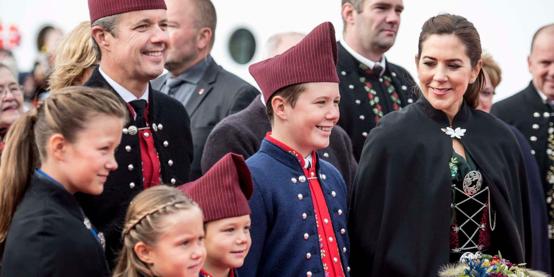 Le prince Christian de Danemark, 15 ans, va pouvoir passer un cap important