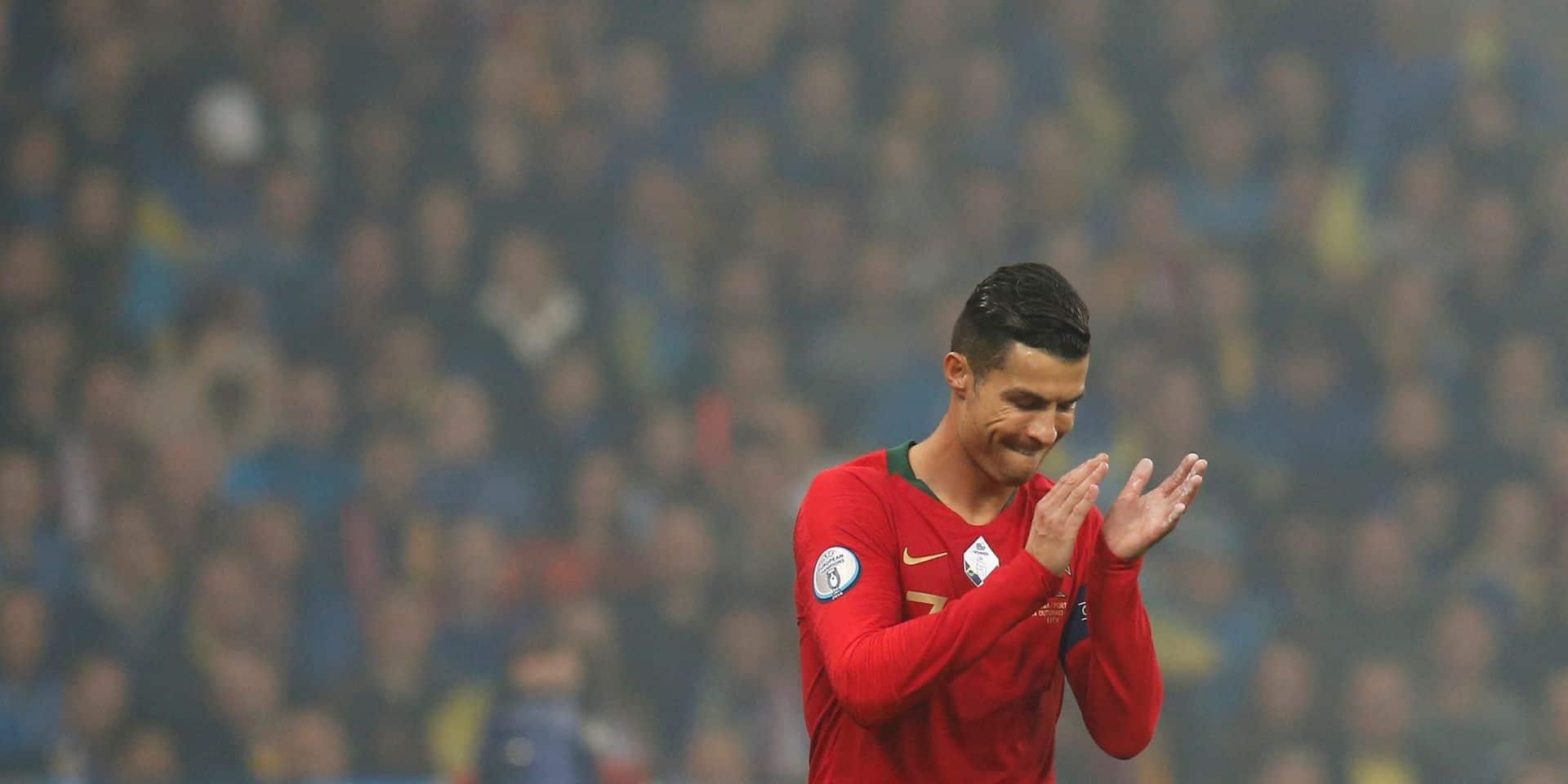 Cristiano Ronaldo plante son 700e but mais la fête est gâchée (VIDEO)