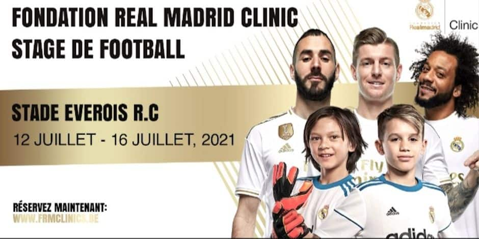 Le Stade Everois aux couleurs du Real Madrid cet été