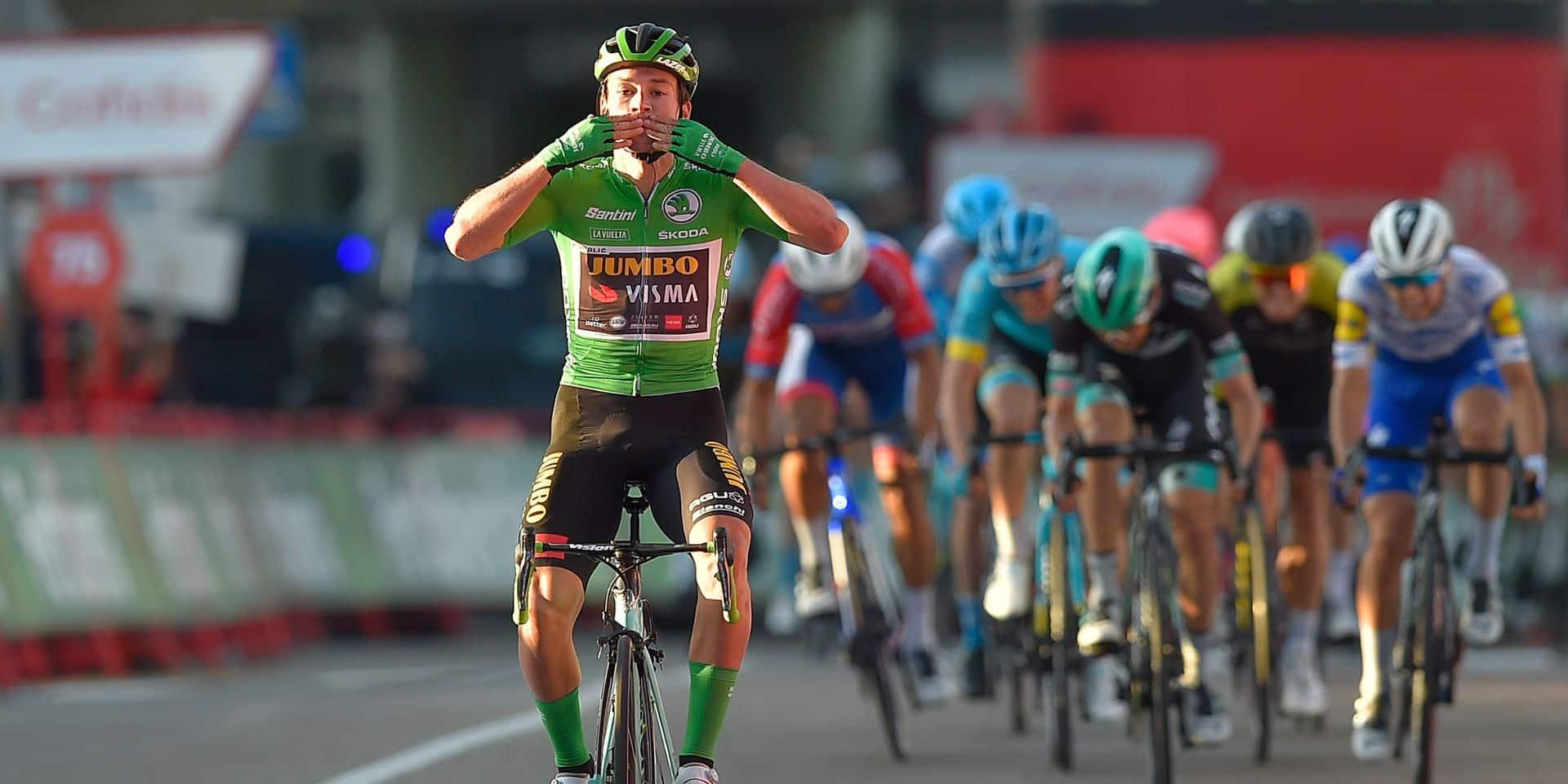 Vuelta: Primoz Roglic remporte la 10e étape en costaud et reprend la maillot rouge