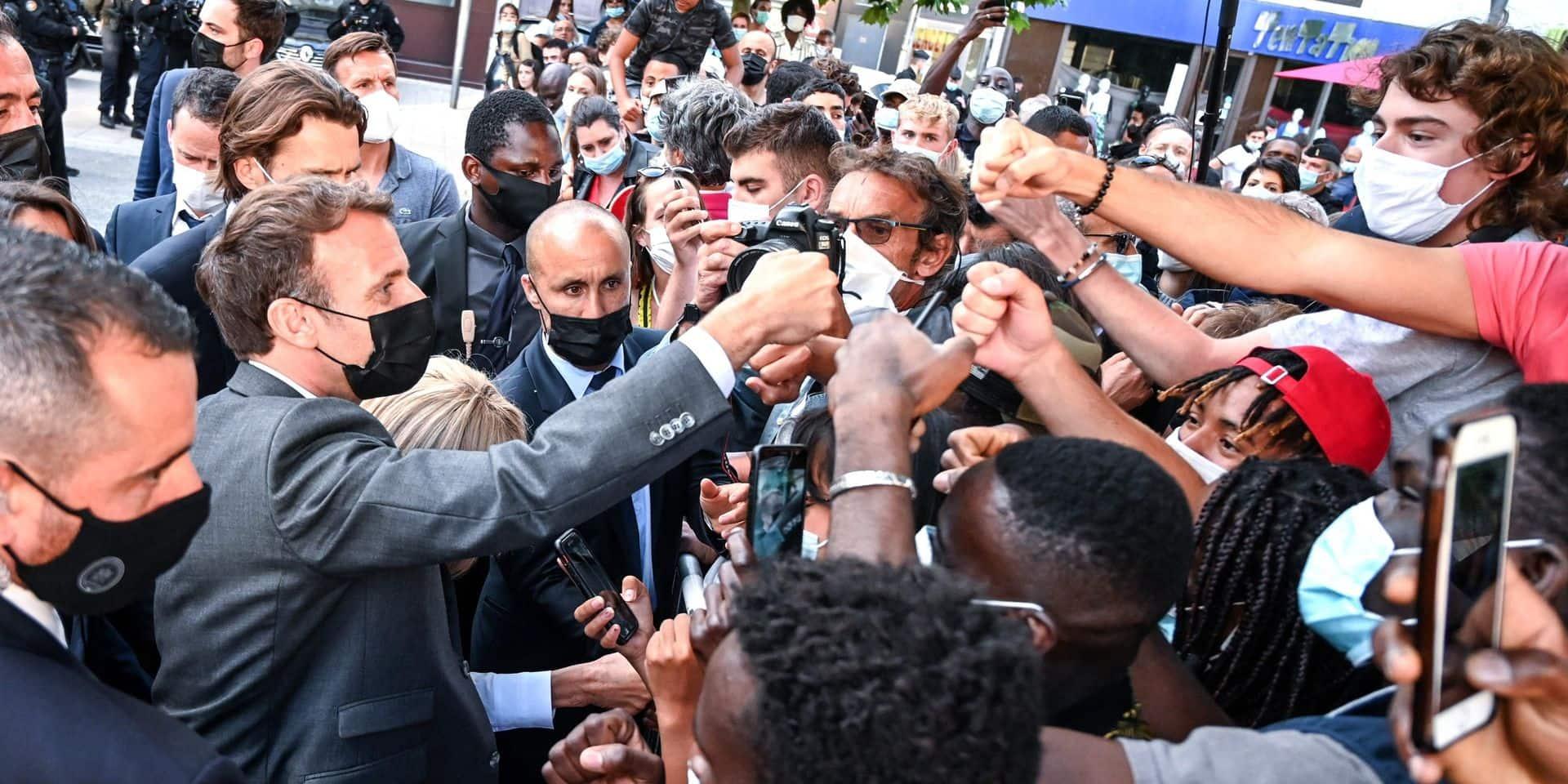 """L'exécutif restera """"au contact"""" des Français, assure Jean Castex après la gifle reçue par Macron"""