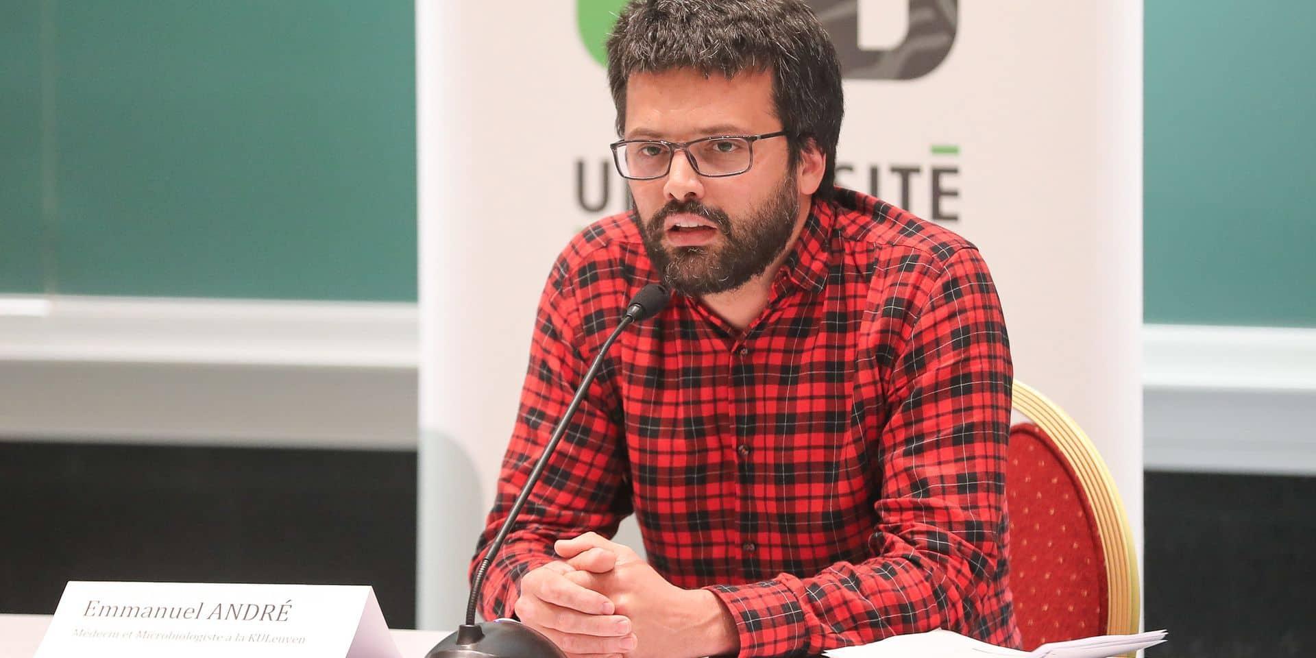 """Emmanuel André: """"Les habitants des zones les plus touchées ne devraient pas aller à la Côte ou en Ardennes"""""""