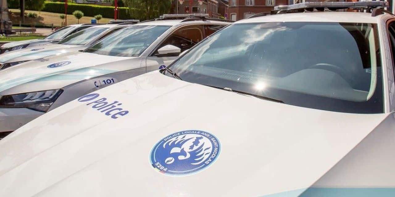 Un nouveau logo pour la police d'Ans-Saint-Nicolas