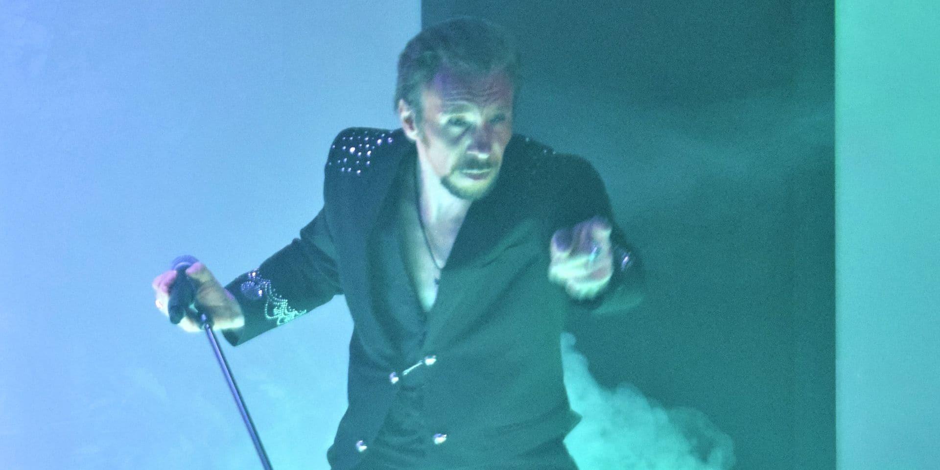 """Un show """"100% Johnny"""" pour le jeune sosie carolo de la rockstar"""