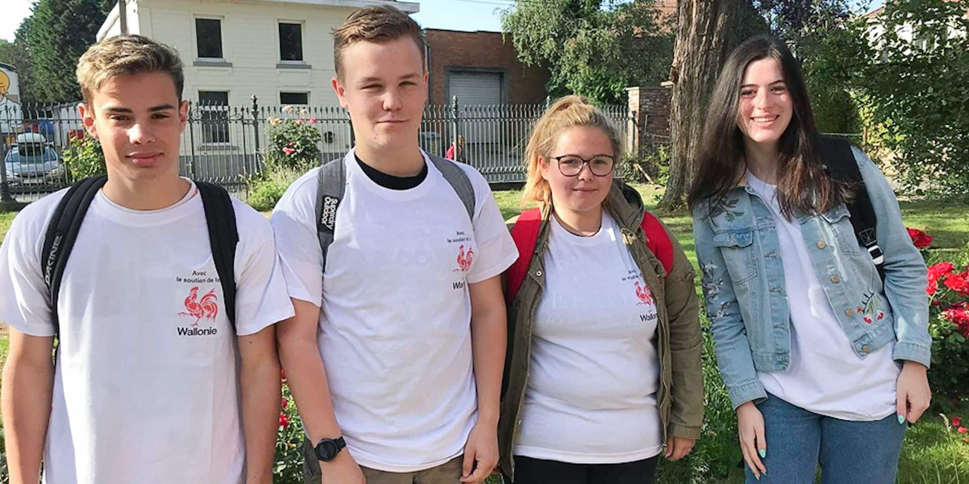 Eté solidaire à Silly: bravo les jeunes!