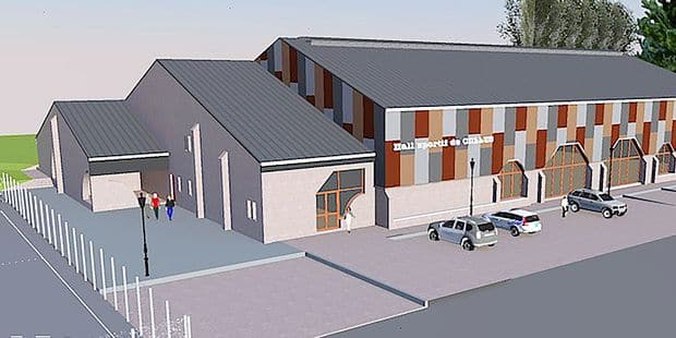 Celles: Le hall des sports a 25 ans, et la commune va lui faire subir un fameux lifting - La DH