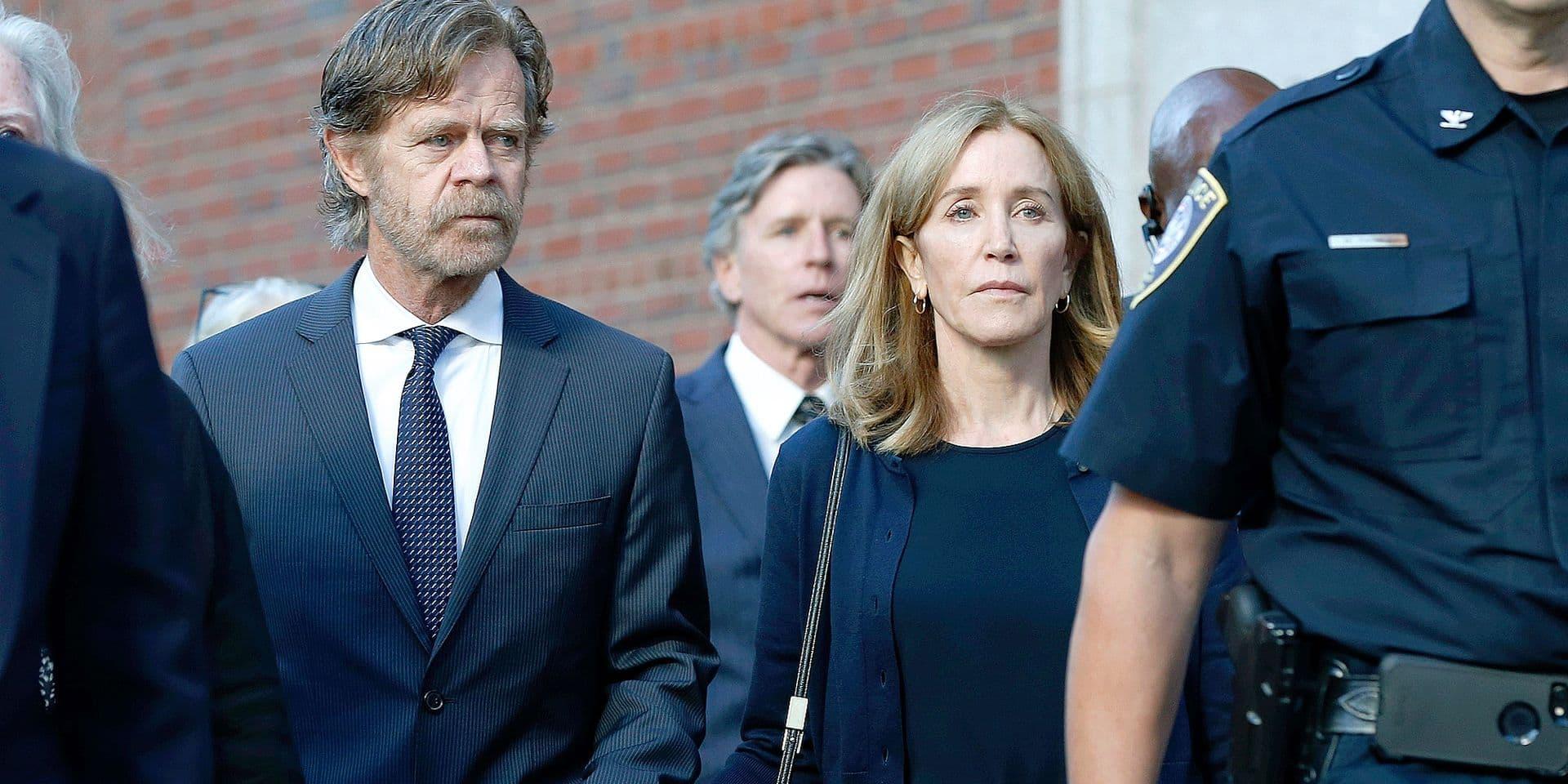 14 jours de prison pour Felicity Huffman