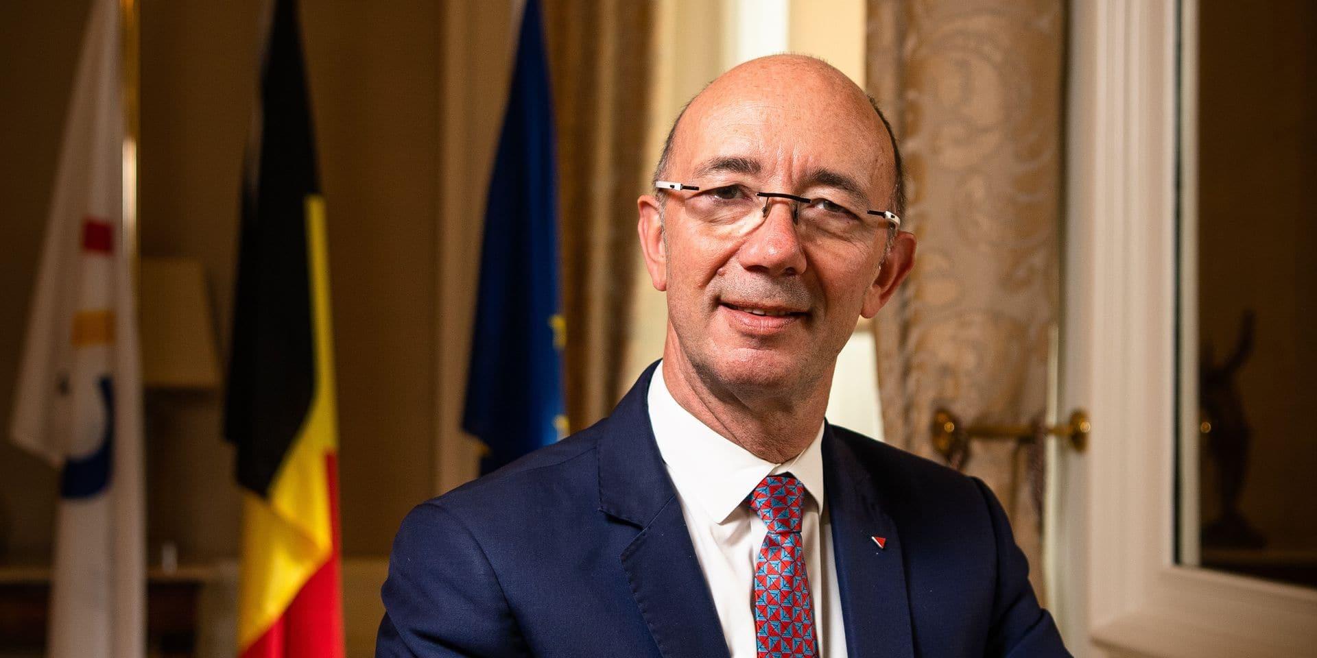 Rudy demotte (PS) - President du Parlement de la Communaute française de Belgique (Federation Wallonie-Bruxelles - FWB)