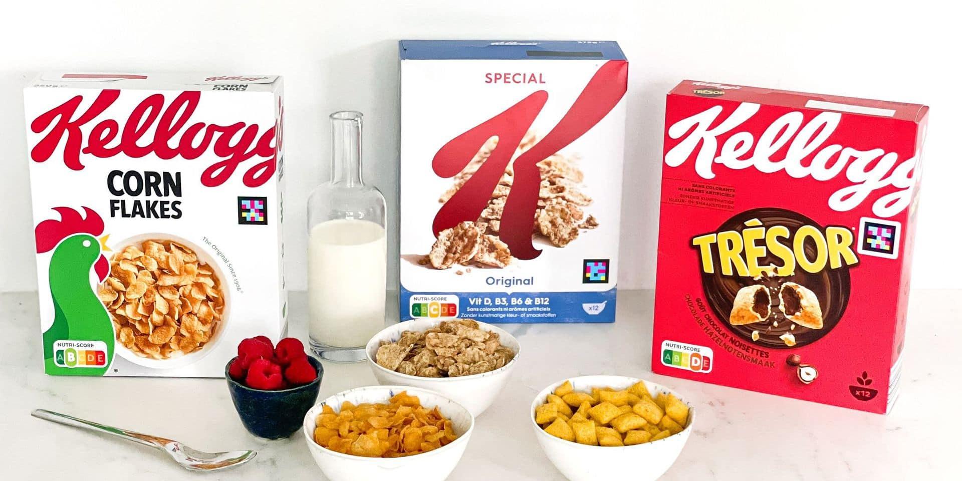 Kellogg's lance des emballages pour malvoyants