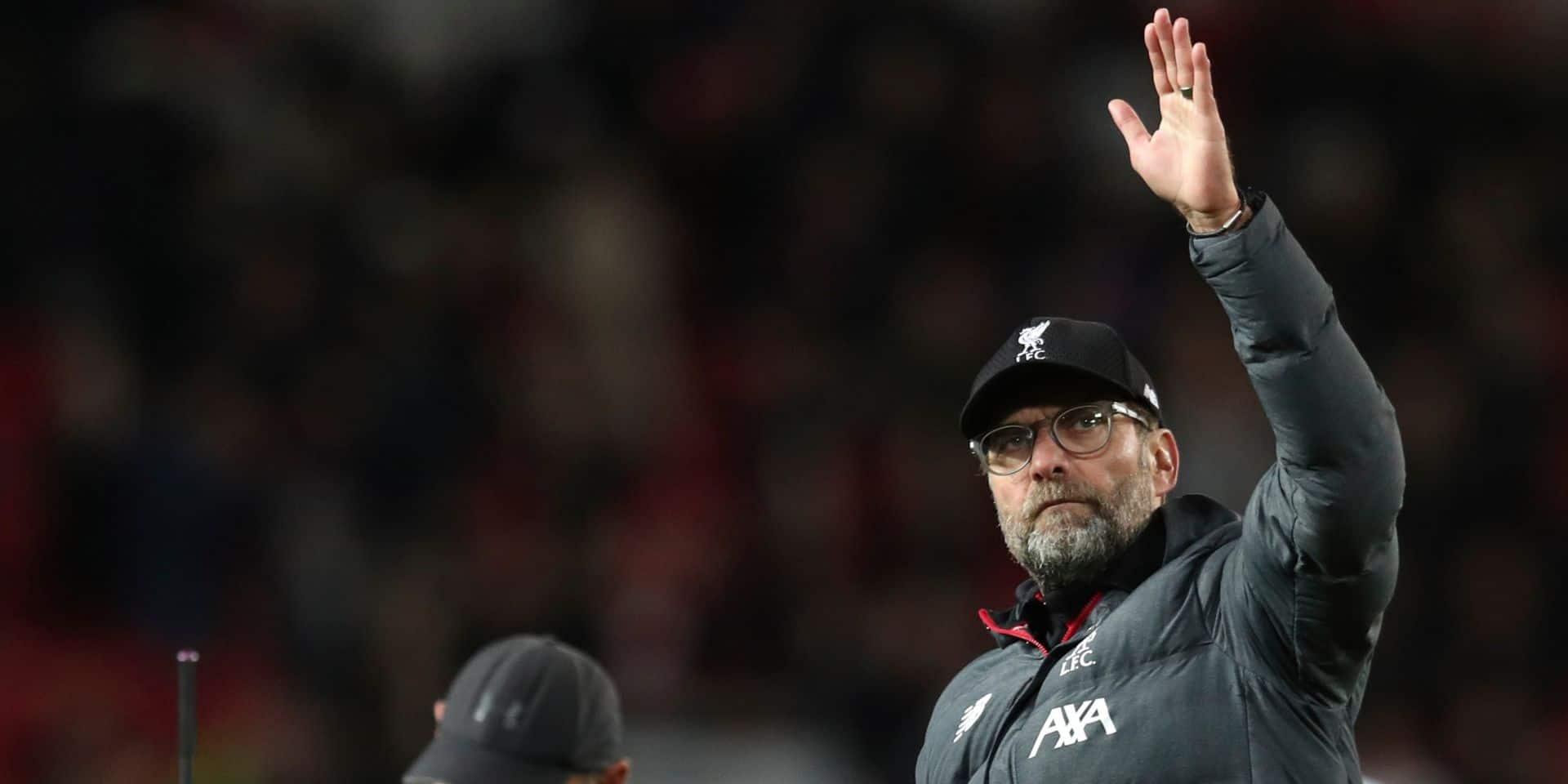 Une surprise dans la compo de Liverpool face à Genk