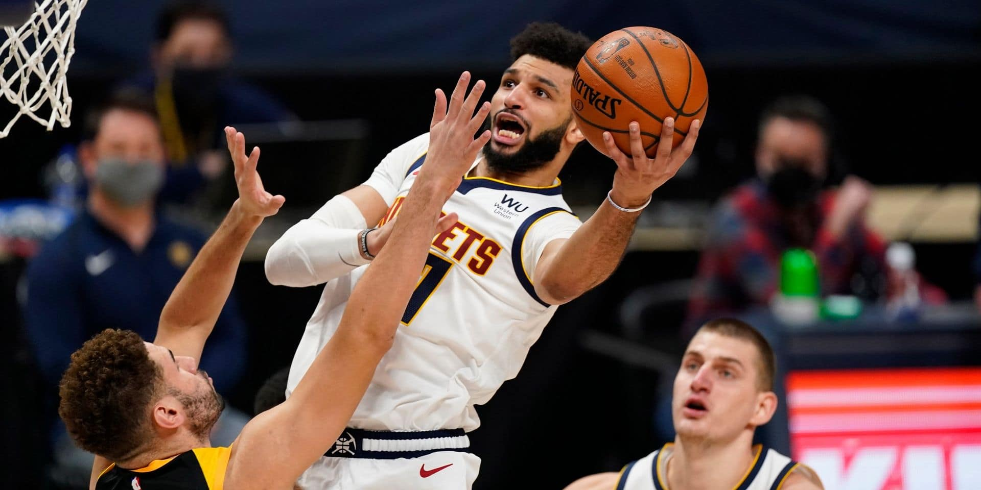 NBA: Jokic et Denver stoppent la série de Utah, Brooklyn surpris à Washington