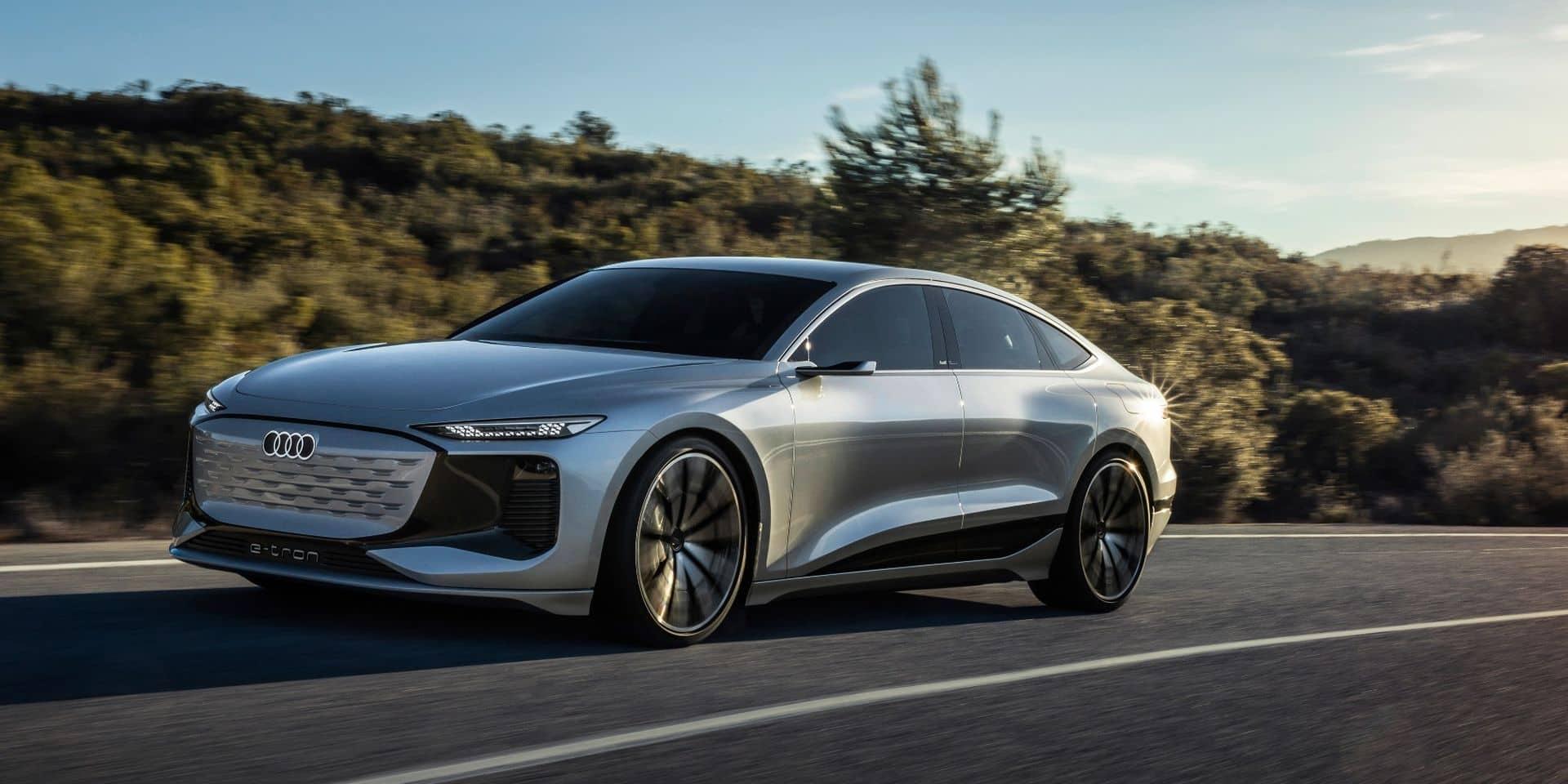 Audi A6 e-tron : l'électrique qui sera la vraie concurrente de la Tesla Model S !