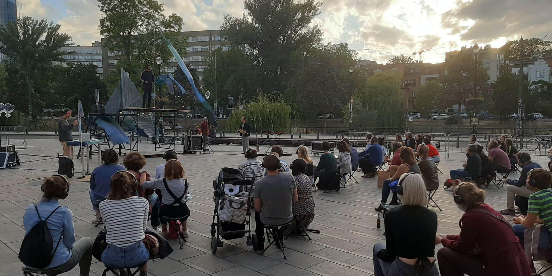 """""""Crepuscule"""", une pièce de théâtre immersive en plein air à Flagey"""