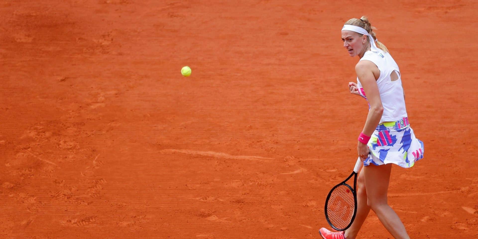Roland-Garros: Kvitova et Kenin dans le dernier carré, Tsitsipas et Djokovic se qualifient aussi
