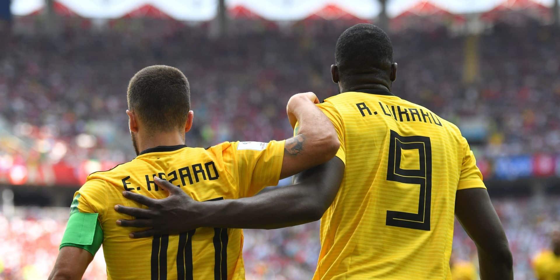 Lukaku et Eden Hazard dans le 11 le plus cher du mercato estival
