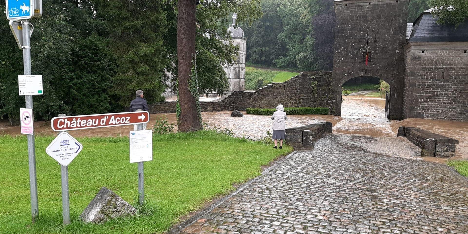 Bouffioulx n'avait plus connu d'inondation... depuis 1987