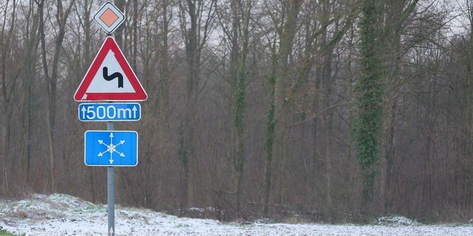La Région Mons-Centre sous manteau blanc
