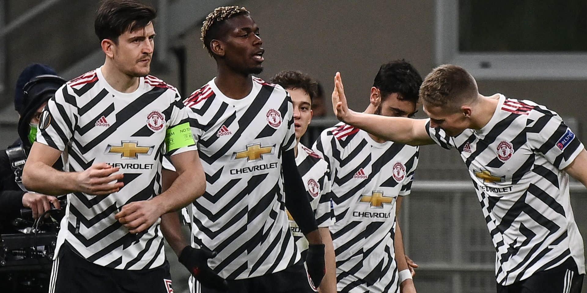 Grenade-Manchester United et Ajax-Roma en quarts de finale de l'Europa League: voici le tirage complet