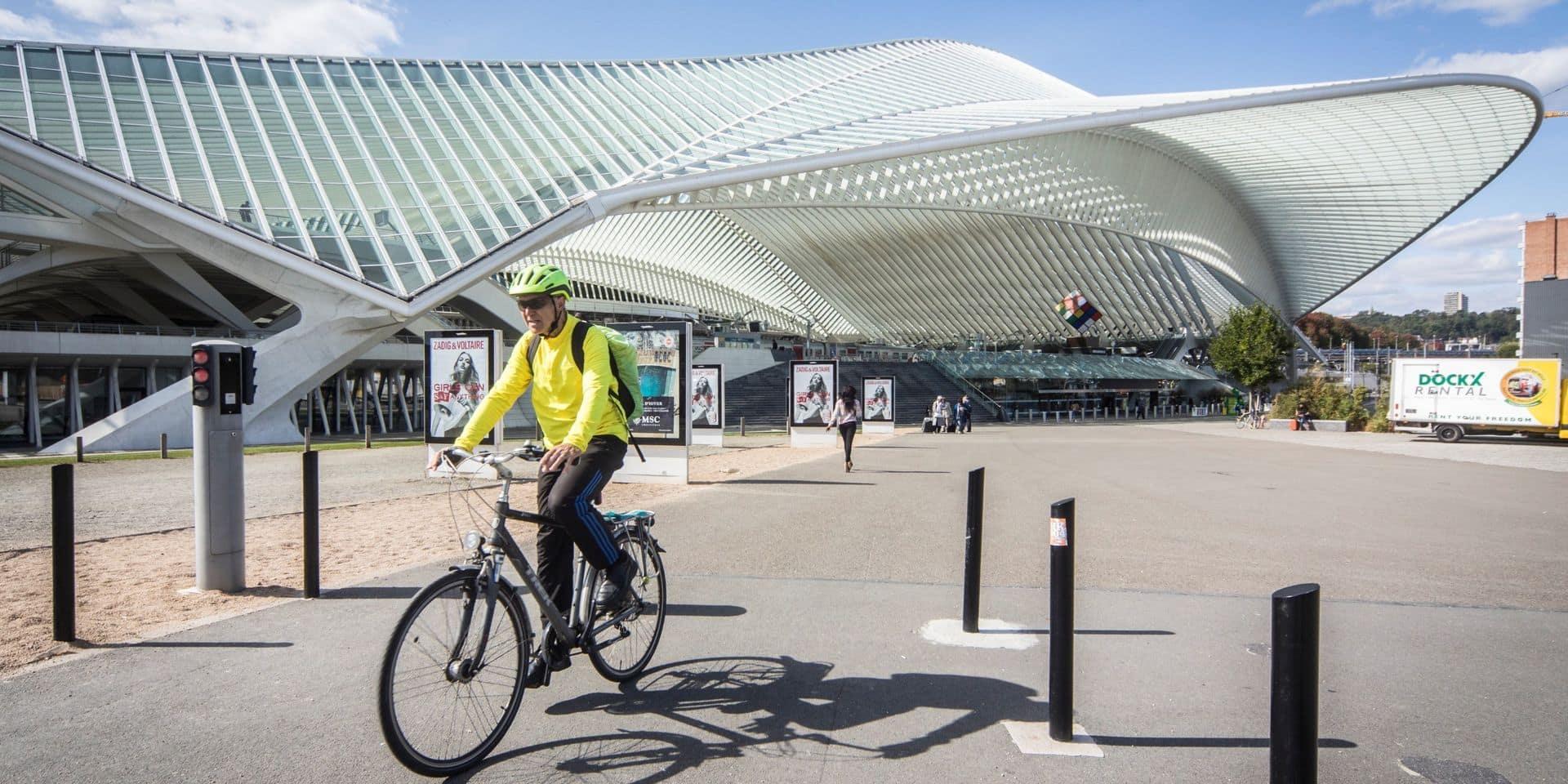 Bientôt plus de 500 emplacements pour vélos aux Guillemins !
