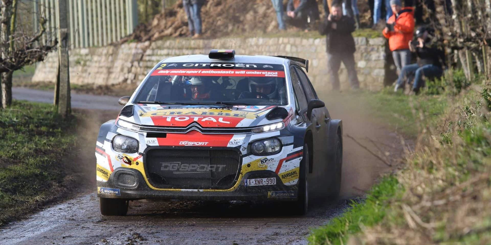 Haspengouw Rally: duel haletant entre Princen et Ghislain de Mevius