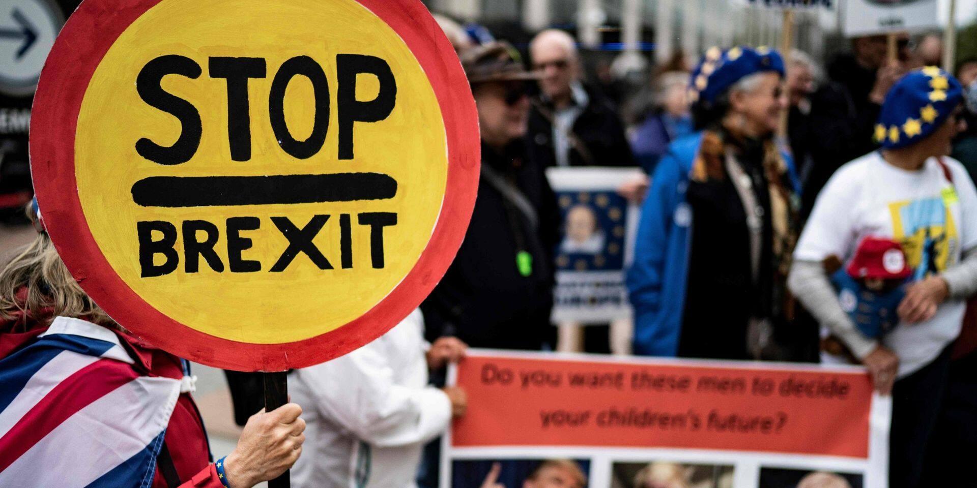"""""""L'horloge tourne"""": le sort du Brexit se joue cette semaine"""