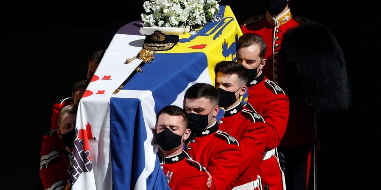 Les funérailles du prince Philip suivies par 13 millions de téléspectateurs britanniques