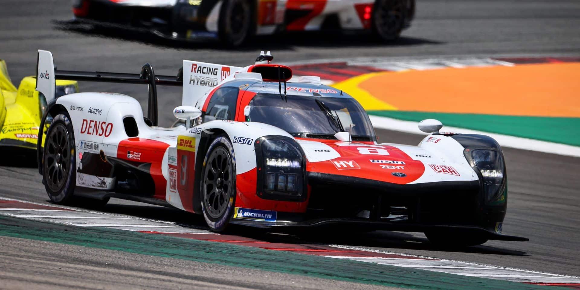 8H Portimao: Toyota gagne pour sa 100e en WEC, médaille d'argent en LMP2 pour Vandoorne