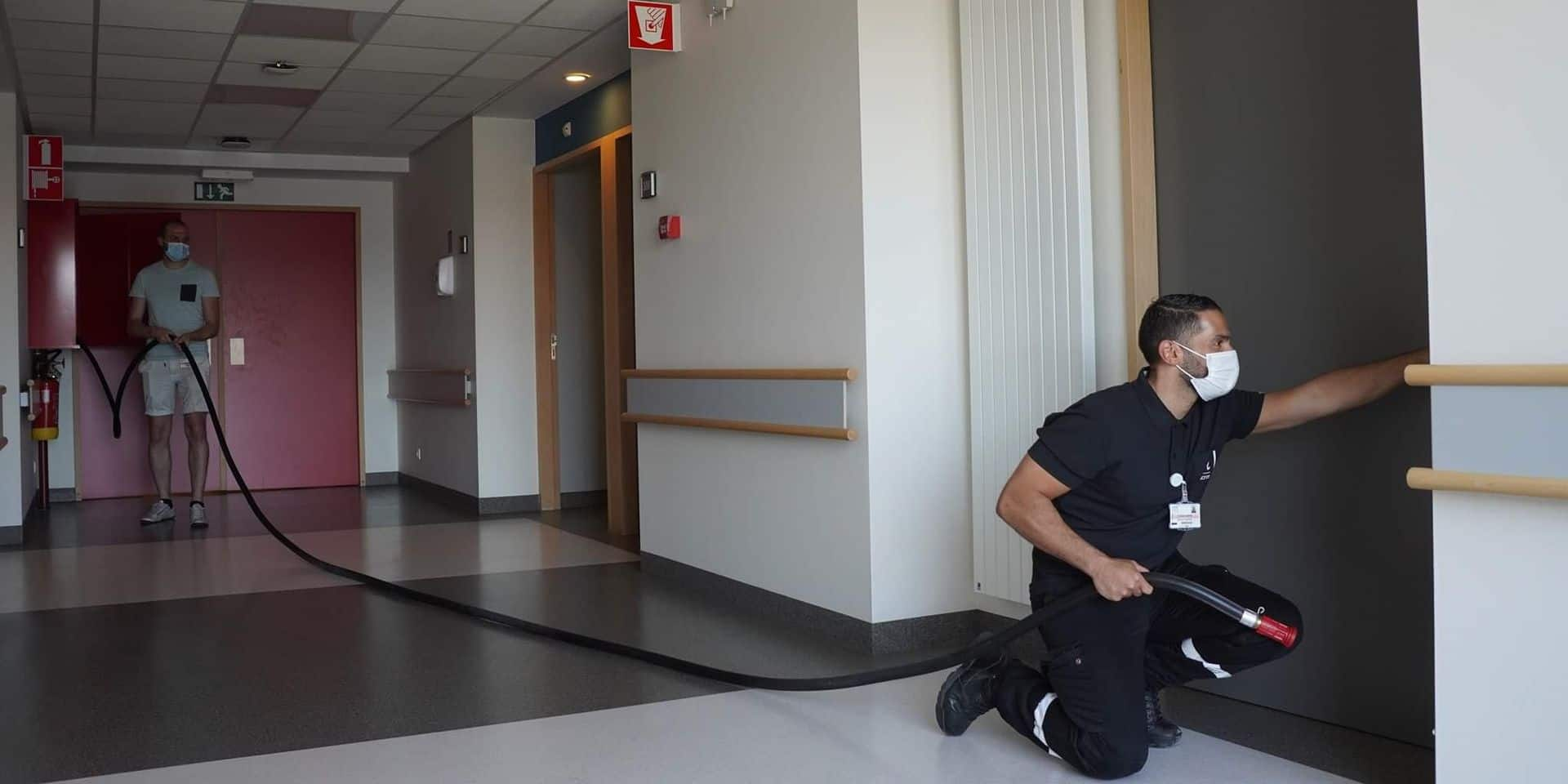 Une formation pour les stewards hospitaliers du CHM