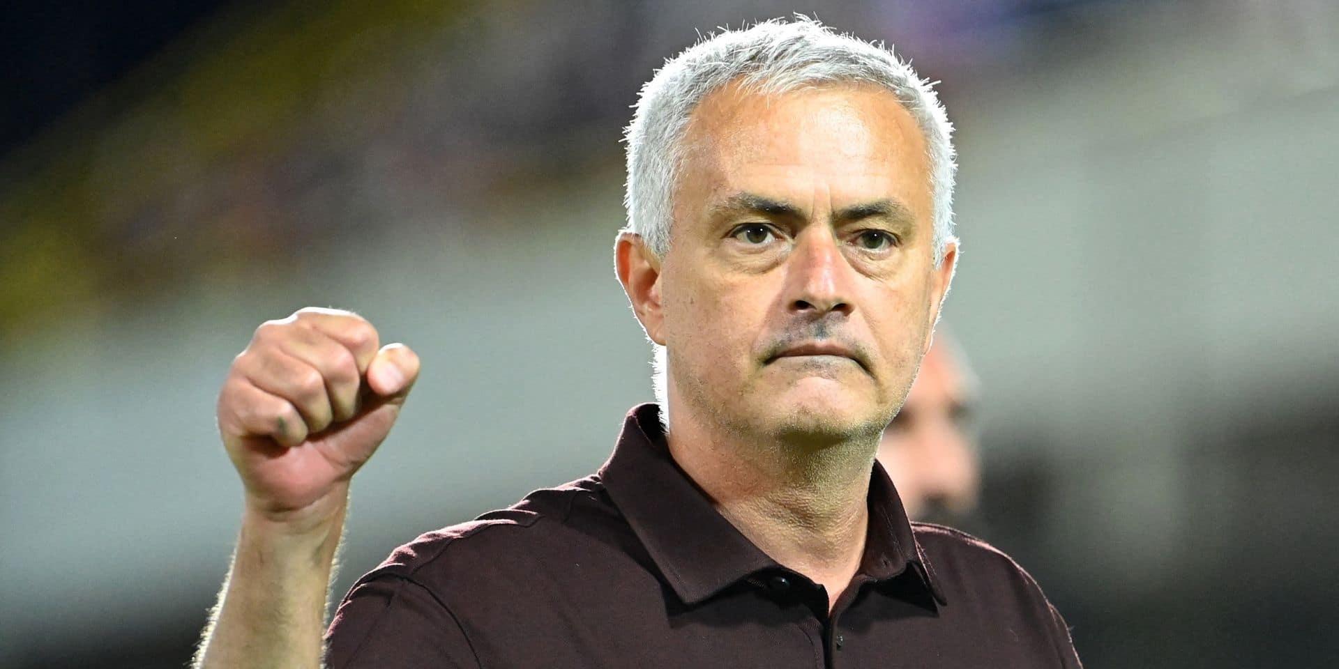 Mourinho veut ramener la Roma aux sommets