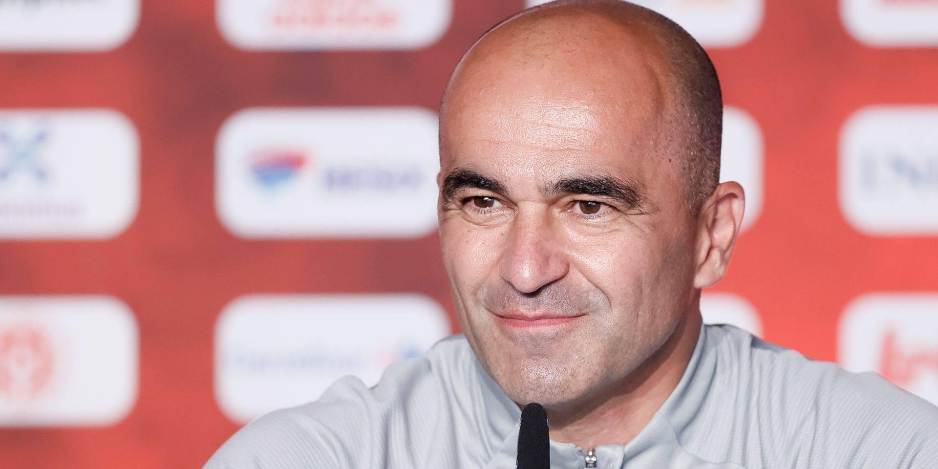 """Roberto Martinez le confirme: """"Je suis concentré à 100% sur les Diables rouges"""""""