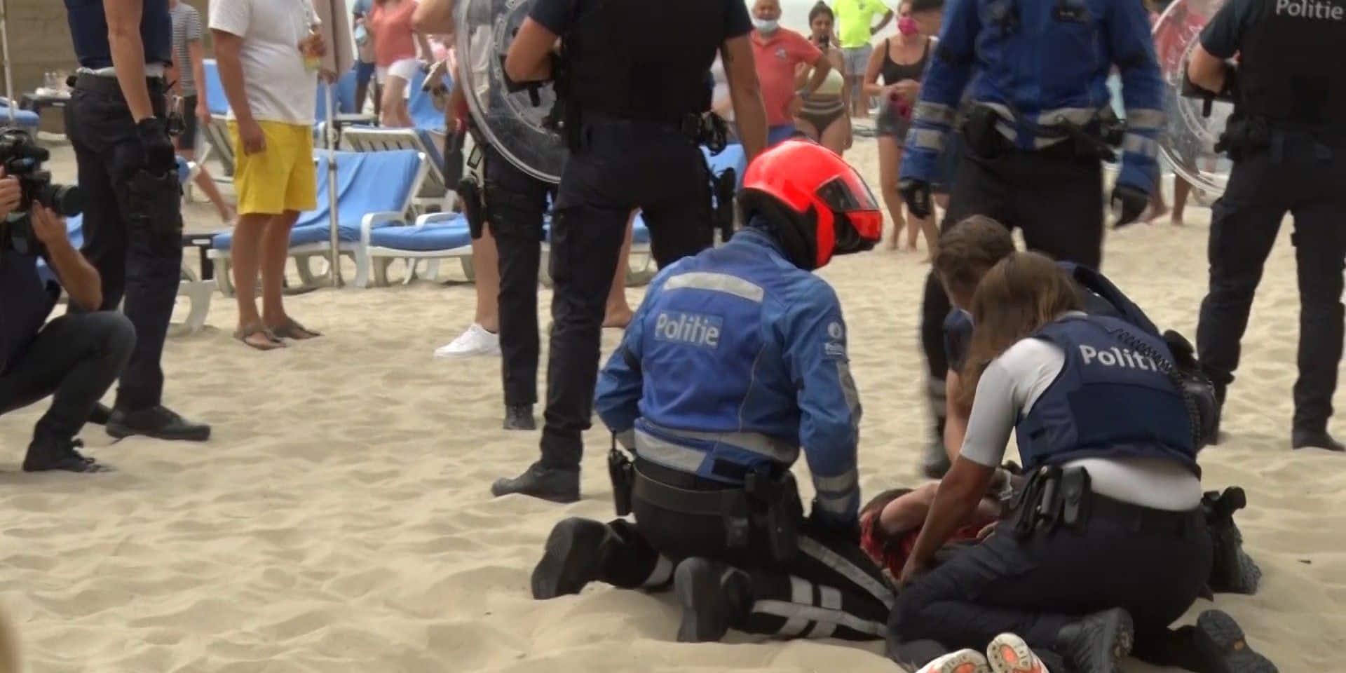 Bagarre à Blankenberge: la détention du quatrième suspect prolongée d'un mois