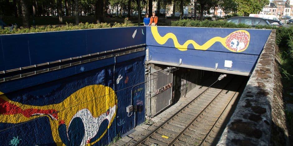 Koekelberg : des fresques monumentales embellissent l'espace public à Simonis