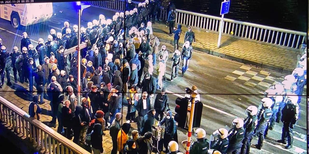 Liège: des manifestants déférés pour rébellion armée et dégradations
