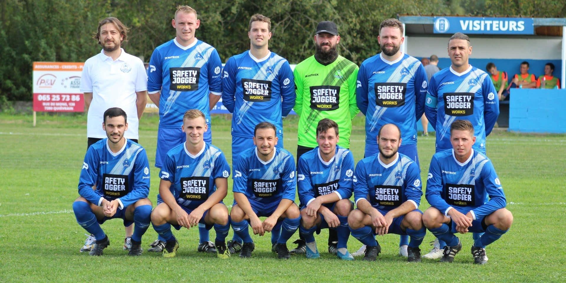 Hensies: le club de foot obtient sa couronne