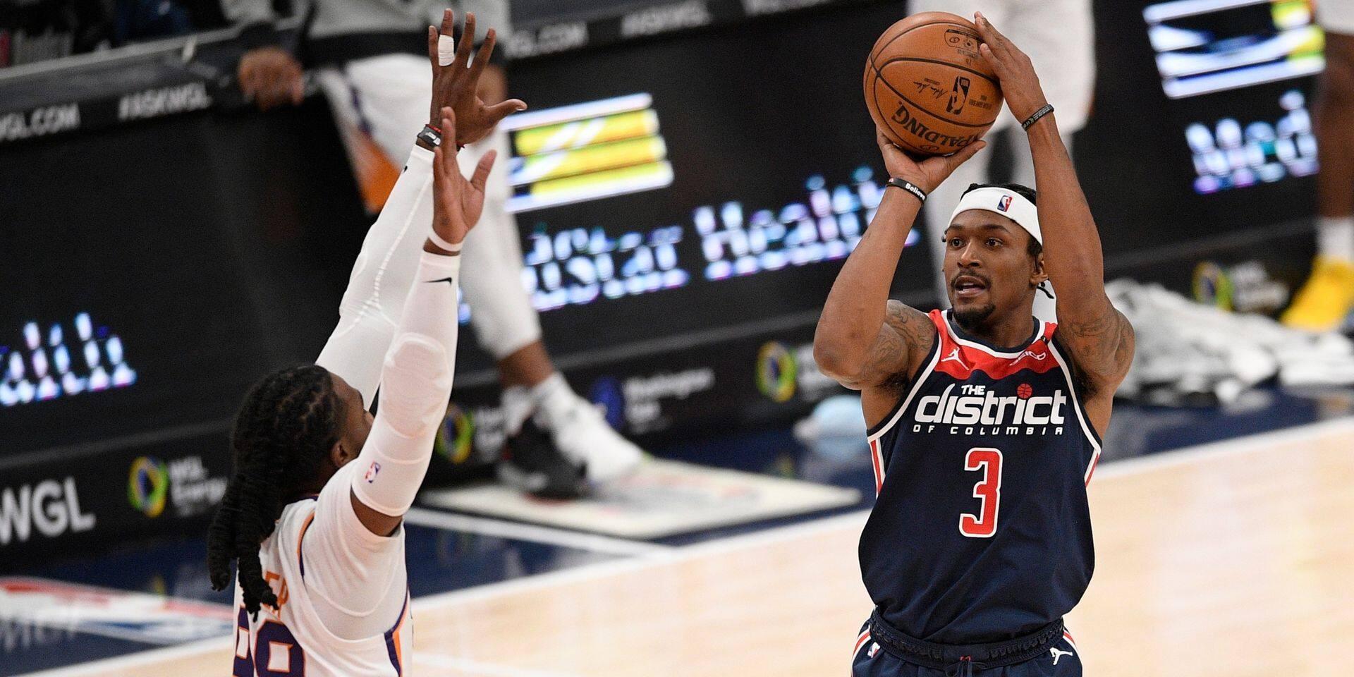 NBA: Bradley Beal et les Wizards éclipsent les Suns, les Sixers dans le dur à Atlanta