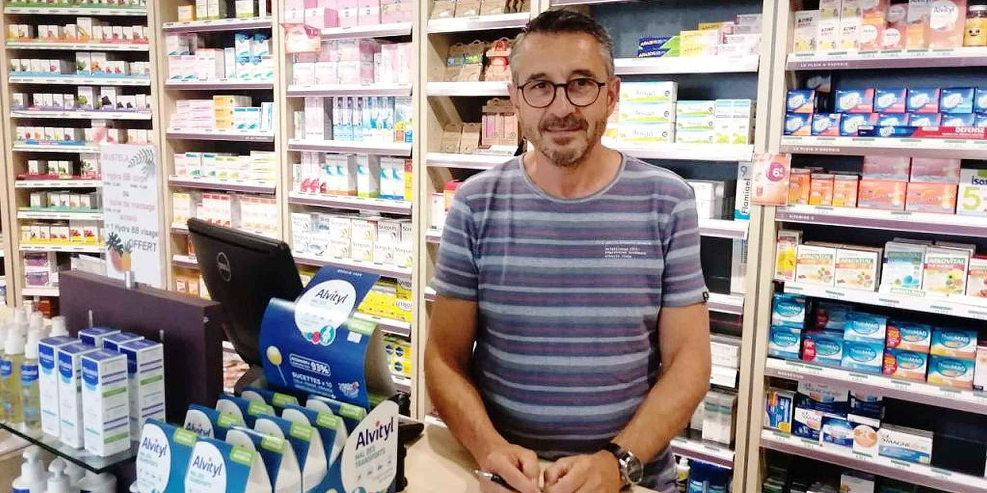 """Philippe, ce pharmacien qui est pillé par les Belges: """"En France, avec les mutualités, un médicament ne coûte rien"""""""