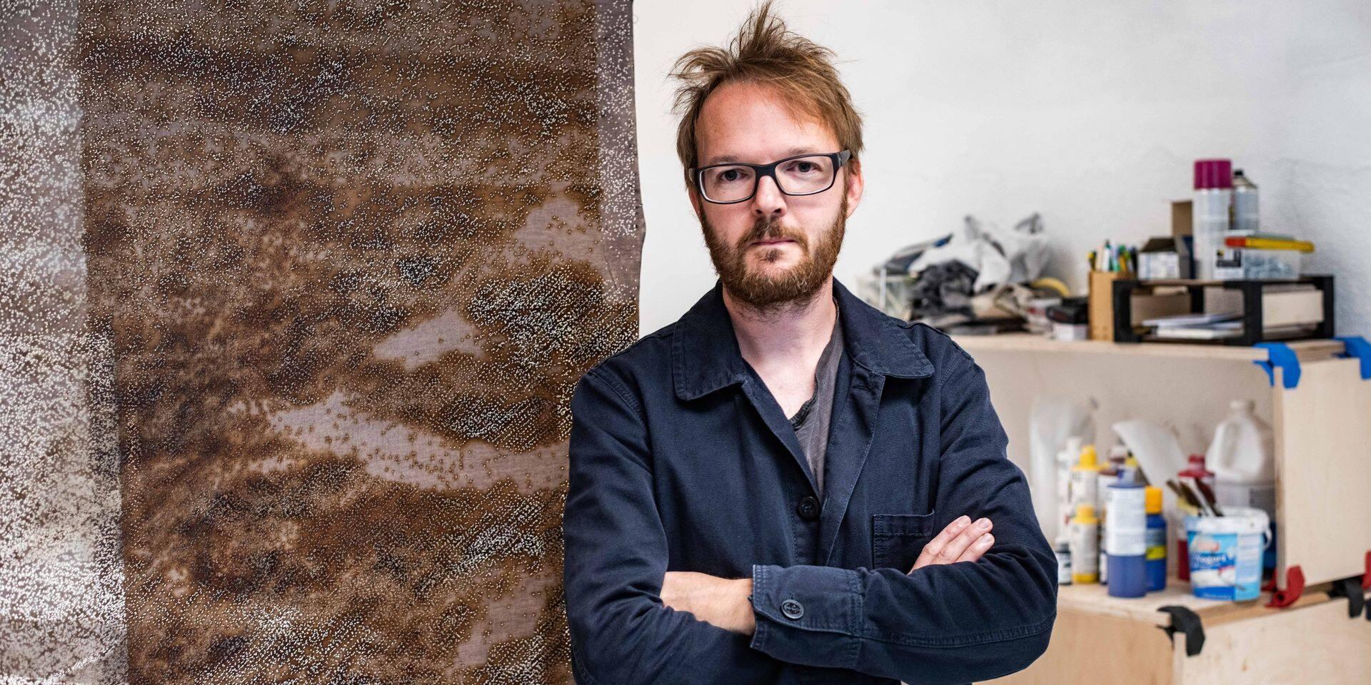 Liège : Un artiste canadien redessine le paysage industriel liégeois